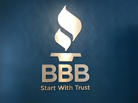 Better Business Bureau 3D Signs & Dimensional Letters
