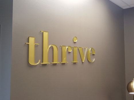 Thrive 3D Signs & Dimensional Letters